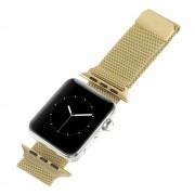 Leveso.dk Apple Watch 42 mm guld Milanese urrem Smartwatch tilbehør
