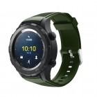 grøn Sports silicone rem Huawei Watch 2 Smartwatch tilbehør