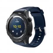 blå Sports silicone rem Huawei Watch 2 Smartwatch tilbehør