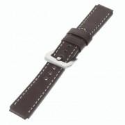 HUAWEI WATCH vintage læder urrem, moccabrun Smartwatch tilbehør