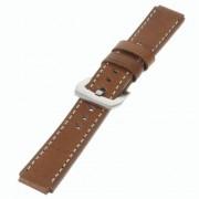 HUAWEI WATCH vintage læder urrem, brun Smartwatch tilbehør