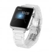 Til Apple watch 38 mm Keramisk urrem hvid Leveso.dk Smartwatch tilbehør