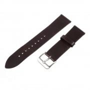 mørkebrun Læder rem til Samsung Gear S3 Smartwatch tilbehør