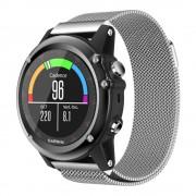 Garmin Fenix 3 luksus milanese urrem sølv Smartwatch tilbehør