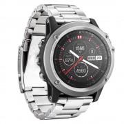til Garmin Fenix 3 urrem i rustfri stål sølv Smartwatch tilbehør