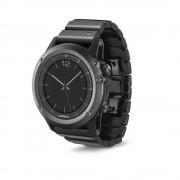 Garmin Fenix 3 luksus rem rustfri stål sort Smartwatch tilbehør