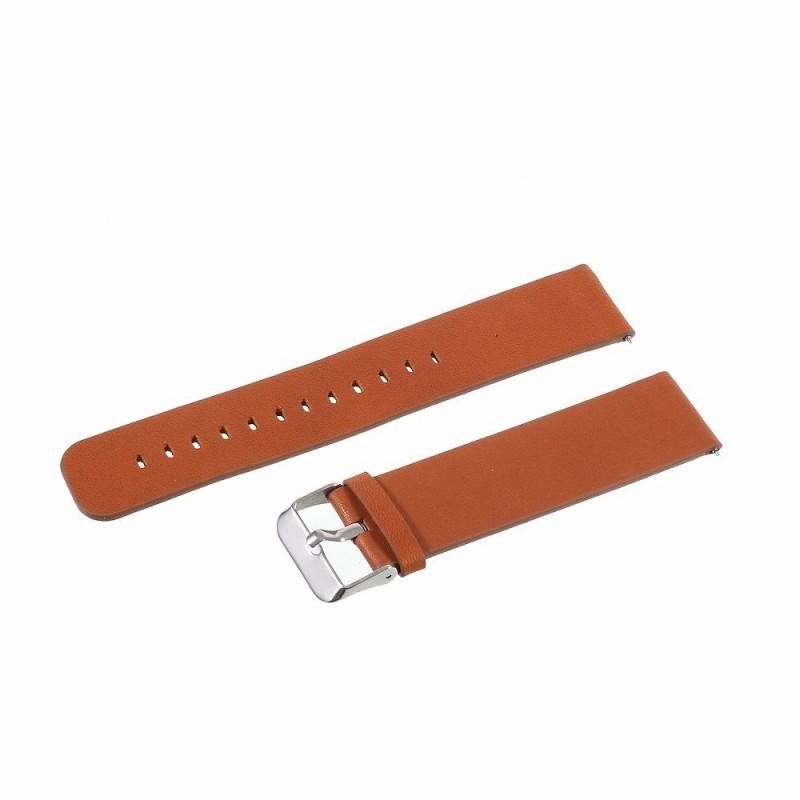 3eba42538a3 Galaxy Watch 46mm klassisk rem brun Smartwatch tilbehør ...
