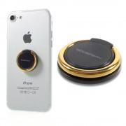 sort-guld MG finger ring holder / stander til mobil Universal tilbehør
