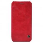 IPHONE 6 / 6S læder cover i business stil, rød Mobiltelefon tilbehør