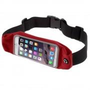 Løbebælte til smartphone str xl rød