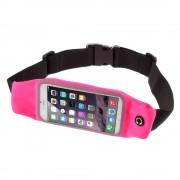 Løbebælte til smartphone str xl rosa