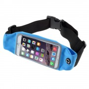 Løbebælte til smartphone str xl blå