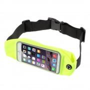 Løbebælte til smartphone str l lysegrøn Mobiltelefon tilbehør