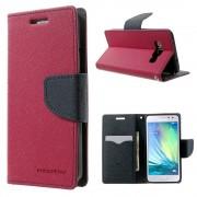Galaxy A3 flip cover rosa Mobil tilbehør