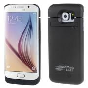 SAMSUNG GALAXY S6 EDGE batteri bagcover 4200 mAh, sort Mobiltelefon tilbehør