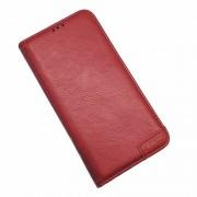 rød Læder etui Lavann Samsung A50 Mobil tilbehør
