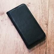 sort Lavann læder etui Samsung A40 Mobil tilbehør