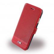 Iphone 6, 6S cover - etui BMW Adrenaline læder rød Mobiltelefon tilbehør