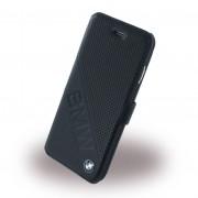 Iphone 6, 6S cover - etui BMW slanted i ægte læder sort Mobiltelefon tilbehør