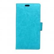 Til Huawei Y625 blå cover med lommer Leveso.dk Mobiltelefon tilbehør
