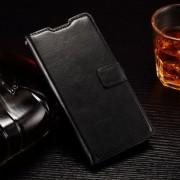 HUAWEI ASCEND P8 LITE læder cover med kort lommer, sort Mobiltelefon tilbehør