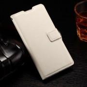 HUAWEI ASCEND P8 LITE læder cover med kort lommer, hvid Mobiltelefon tilbehør