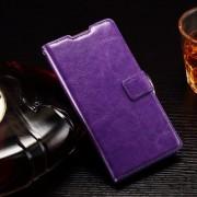 HUAWEI ASCEND P8 LITE læder cover med kort lommer lilla Mobiltelefon tilbehør