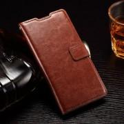 HUAWEI ASCEND P8 LITE læder cover med kort lommer, brun Mobiltelefon tilbehør