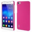 Huawei Honor 6 rosa cover hard rub Leveso.dk Mobil tilbehør