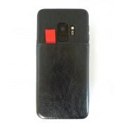 Galaxy S9 sort case med 3 kortholdere Mobil tilbehør