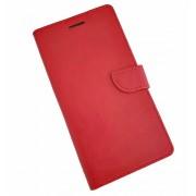 Rød Klassisk læder cover Huawei P8 Lite