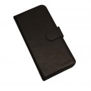 Klassisk læder cover Samsung A10 sort Mobil tilbehør
