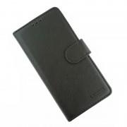 sort LA læder flip cover Samsung Xcover 4 Mobil tilbehør