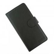 sort LA læder flip etui Samsung A20e Mobil tilbehør