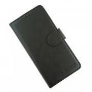 sort LA læder flip etui Samsung A70 Mobil tilbehør