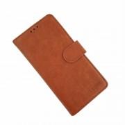 brun LA læder flip etui Samsung A20e Mobil tilbehør