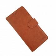 Klassisk læder cover Samsung A10 brun Mobil tilbehør