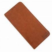 brun Lavann læder etui Samsung A70 Mobil tilbehør