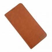 brun Lavann læder etui Samsung S10 Plus Mobil tilbehør