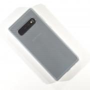 hvid transparent Roar Carbon Armor case Samsung S10 Mobil tilbehør
