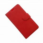 HUAWEI ASCEND Y530 læder cover med kort lommer, rød Mobiltelefon tilbehør