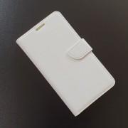 HUAWEI ASCEND Y530 læder cover med kort lommer, hvid Mobiltelefon tilbehør