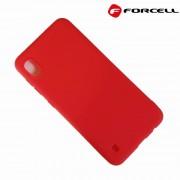 rød Forcell soft silikone case Samsung A10 Mobil tilbehør