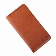 brun Lavann flip etui Samsung Note 10 Mobil tilbehør