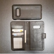 Lavann 2 i 1 cover Samsung S10e sort Mobil tilbehør