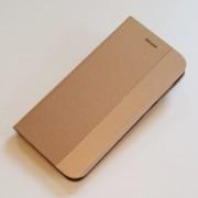 guld Sensi flip omslag Samsung A40 Mobil tilbehør