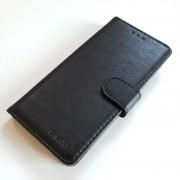sort LA læder flip omslag Samsung S20 Mobil tilbehør