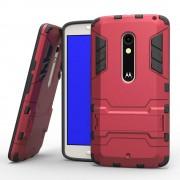 MOTOROLA MOTO X PLAY hybrid bag cover, rød Mobiltelefon tilbehør