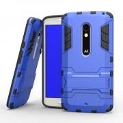 MOTOROLA MOTO X PLAY hybrid bag cover, blå Mobiltelefon tilbehør