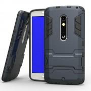 MOTOROLA MOTO X PLAY hybrid bag cover, mørkeblå Mobiltelefon tilbehør